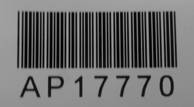 Queensland Administration Plan Registered Plan Number Barcode label
