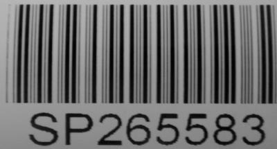 Queensland Cadastral Survey Plan Registered Number Barcode label